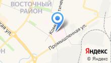 Новочебоксарский психиатрический диспансер на карте