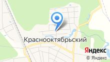 Администрация муниципального образования п.г.т. Краснооктябрьский на карте