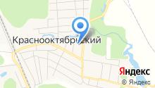 Краснооктябрьская участковая больница на карте