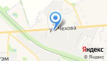 Медведевский водоканал на карте