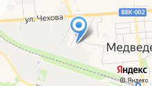 Медведевоагродорстрой на карте
