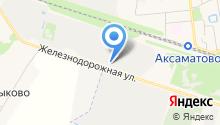 Плато, ЗАО на карте