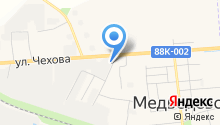 Медведевская ПМК на карте