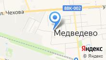 Медведевские бытовые услуги на карте