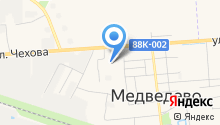 Медведевский детский сад №2, Солнышко на карте
