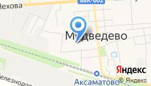 Медведевский хлеб на карте