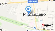 Медведевский районный отдел судебных приставов на карте