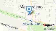 Медведевская центральная районная больница на карте