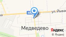 Фирменный магазин на карте