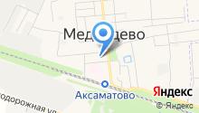 ОГИБДД МО МВД Медведевский на карте