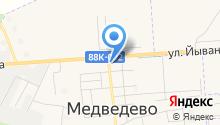 Медведевский отдел Управления Федеральной службы государственной регистрации, кадастра и картографии по Республике Марий Эл на карте