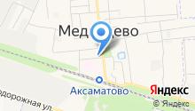 Медведеский на карте