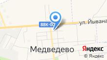 Медведевский районный центр детского (юношеского) технического творчества на карте