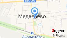Столовая, Медведевское районное потребительское общество на карте
