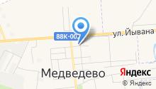 Медведевский районный дом детского творчества на карте