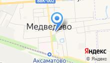 Управление Пенсионного фонда РФ в Медведевском районе на карте