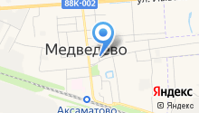 ЗАГС пос. Медведево на карте