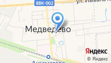 Мишель на карте