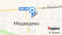 Медведевский детский сад №4 на карте