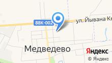 Медведевский детский сад №6 на карте