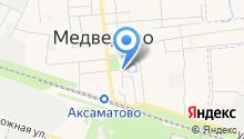 Отдел военного комиссариата Республики Марий Эл по Медведевскому и Килемарскому районам на карте
