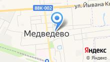 Коллегия адвокатов Медведевского района Республики Марий Эл на карте