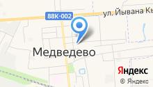 Медведевская строительная компания на карте