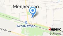 Медведевский детский сад №1 на карте