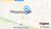 Прокуратура Медведевского района на карте
