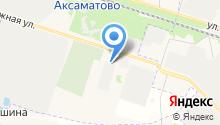 Казанский Посад на карте
