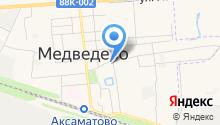 Медведевский районный суд на карте