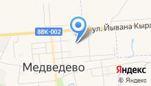 Медведевская детская школа искусств им. К. Смирнова на карте