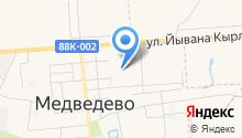 Медведевская ДЮСШ на карте