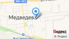 Медведевское отделение вневедомственной охраны на карте