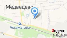 Медведевский детский сад №3, Золотой ключик на карте