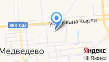 Красное & Белое на карте
