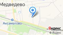 Мясокомбинат Звениговский на карте