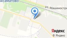 Автокекс на карте