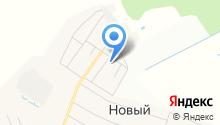 Новоарбанская средняя общеобразовательная школа на карте