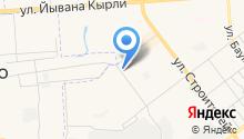 Автостоянка на Яна Крастыня на карте
