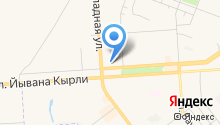 Klюkva на карте