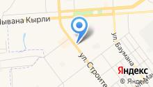 Почта России, ФГУП на карте