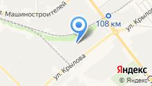 AutoSelf на карте