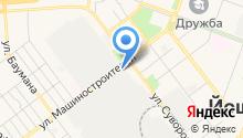 Алкор-Пак на карте