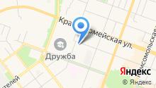 Антенная служба, МКП на карте