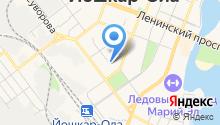 Главное управление МЧС России по Республике Марий Эл на карте