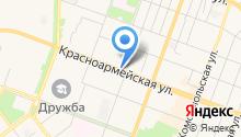 Инталия на карте