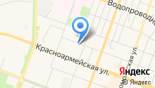 Аннель на карте