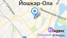 Адвокатская палата Республики Марий Эл на карте