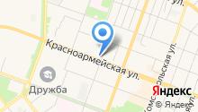 Аист на карте